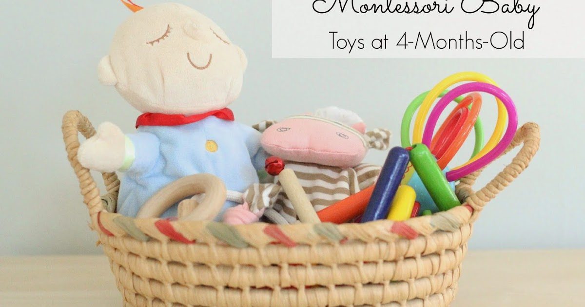 Toys For 4 Months : Montessori baby toys at months