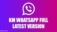 Download KM WhatsApp v8.07 Full Latest Version