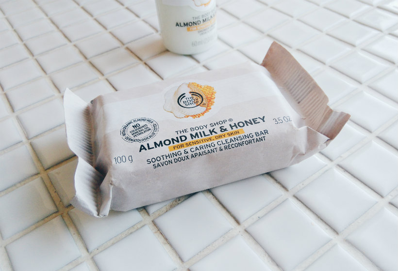 The Body Shop Almond Milk & Honey Cleansing Bar