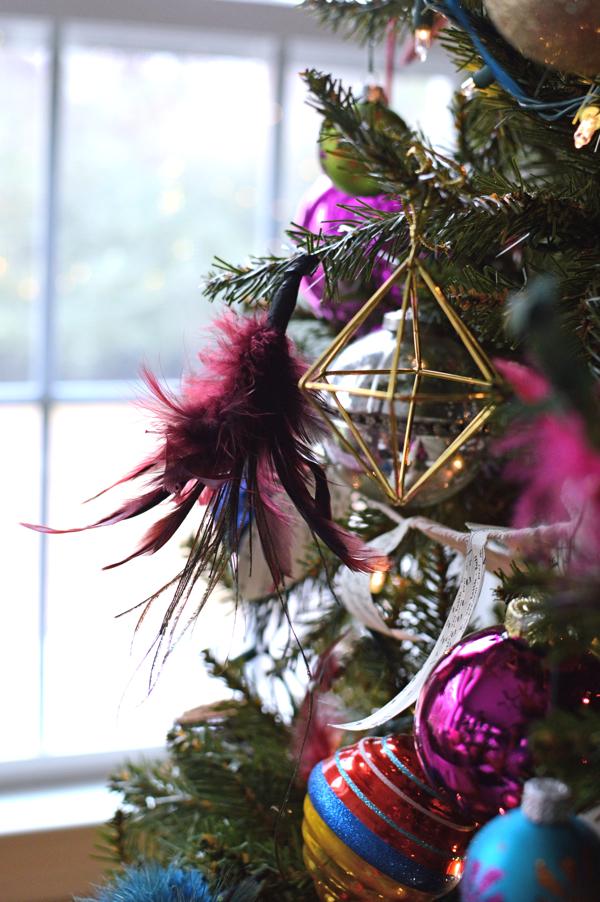 festive ornaments for Christmas tree