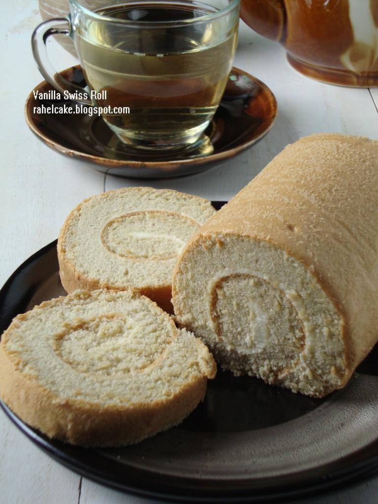 love cake vanila swiss roll Resepi Kek Keju Pic Enak dan Mudah