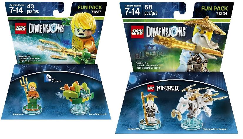 Lego Dimensions DC Aquaman Fun Pack $5.78 (Reg $14), Lego ...