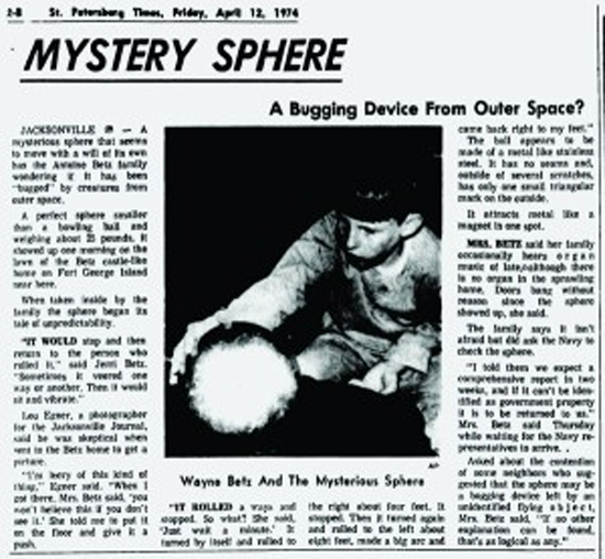 Mistério Esfera dos Betz - Img 5