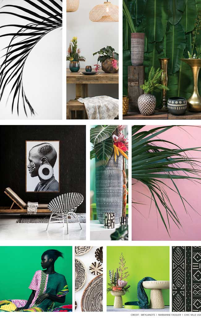 Accent Decor's Showroom Mood Board