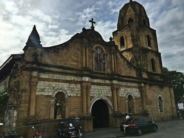HOW TO GO TO GUIMBAL CHURCH (1.) From Miag-ao Church, ride a jeepnery bound for Iloilo City. Fare is Php20 (2.) Disembark at Miag-ao Church. The church is beside Guimbal Municipal Hall and Plaza, across the road. If you are coming from Iloilo City, ride a jeepney heading for Mohon Terminal then disembark on the opposite side of the road fronting Mohon Terminal and ride another jeepney heading for Guimbal, Miag-ao or San Joaquin and disembark at Guimbal Church.