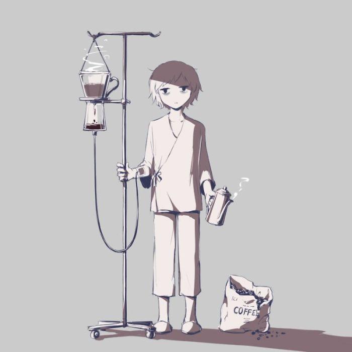 Ya Tuhan, anak laki-laki itu... Coffee ~