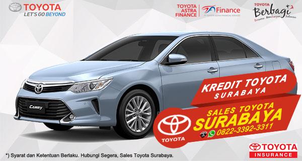 Promo DP Ringan, Paket Kredit Toyota Camry Hybrid Surabaya
