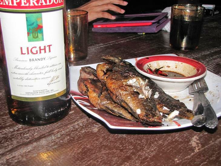 Tilapia and Emperador