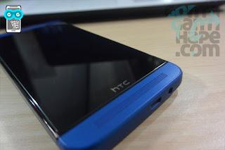 HTC One E8 - speaker bagian bawah