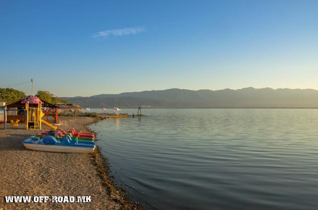 Sunrise scene - Dojran Lake, Macedonia