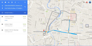 Google Maps Direction Features