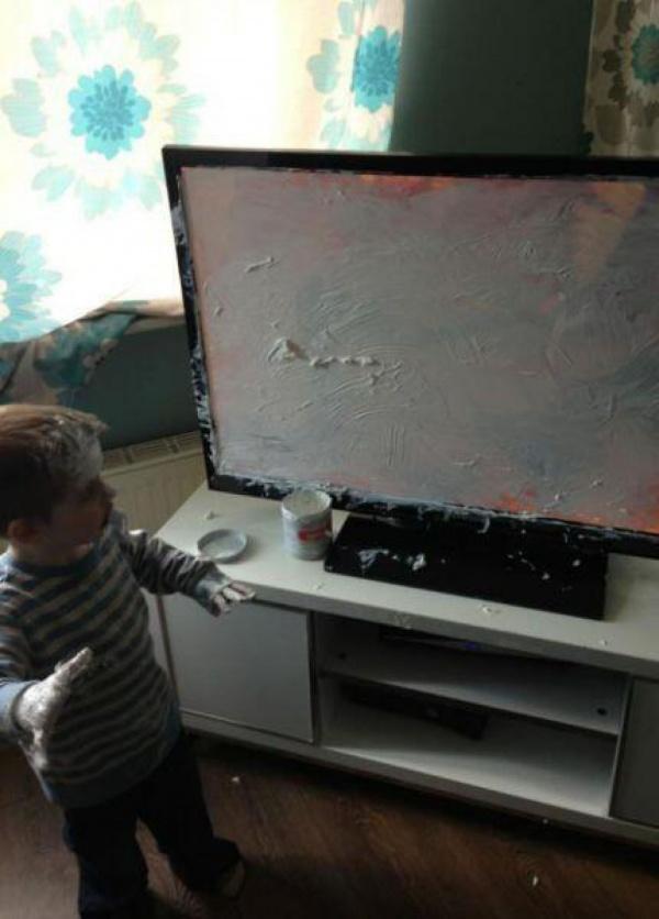 tiernas travesuras de los niños 6