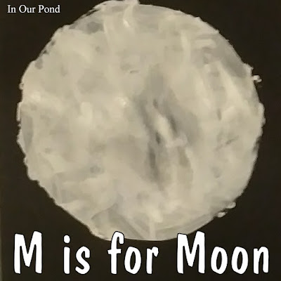 m is for moon homeschool unit from In Our Pond