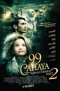 Download Film 99 Cahaya di Langit Eropa Part 2 (2014) DVD-Rip