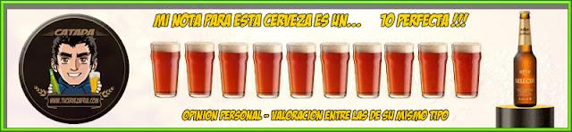 Valoración Cerveza San Miguel SELECTA XV