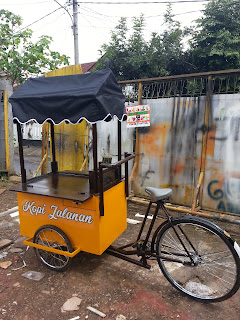 gerobak kopi sepeda