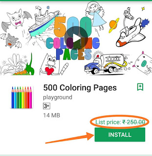500 Coloring Pages pro version App free download here