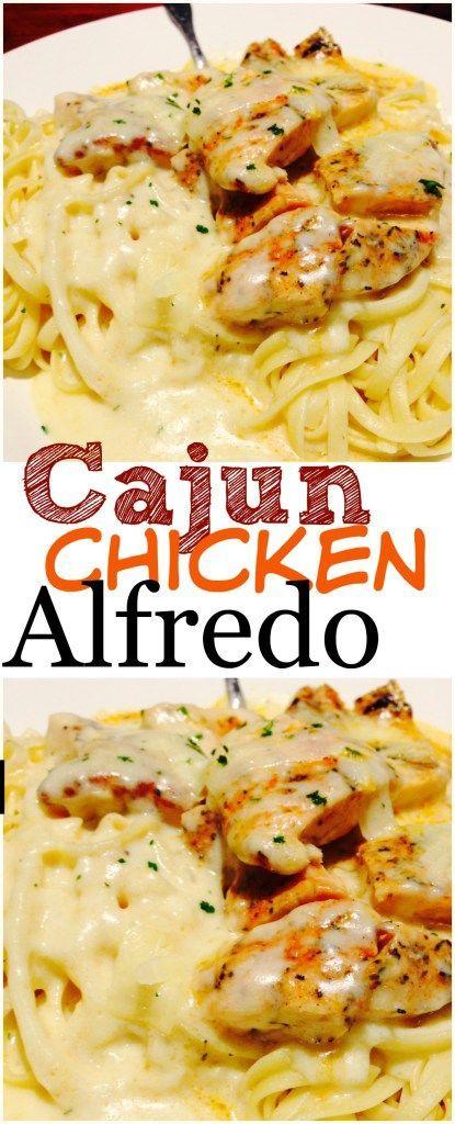Cajun Chicken alfredo #cajun #chicken #chickenrecipes #alfredo #pasta #pastarecipes #easypastarecipes