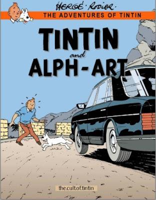 Download free ebook Tintin and Alph-Art pdf