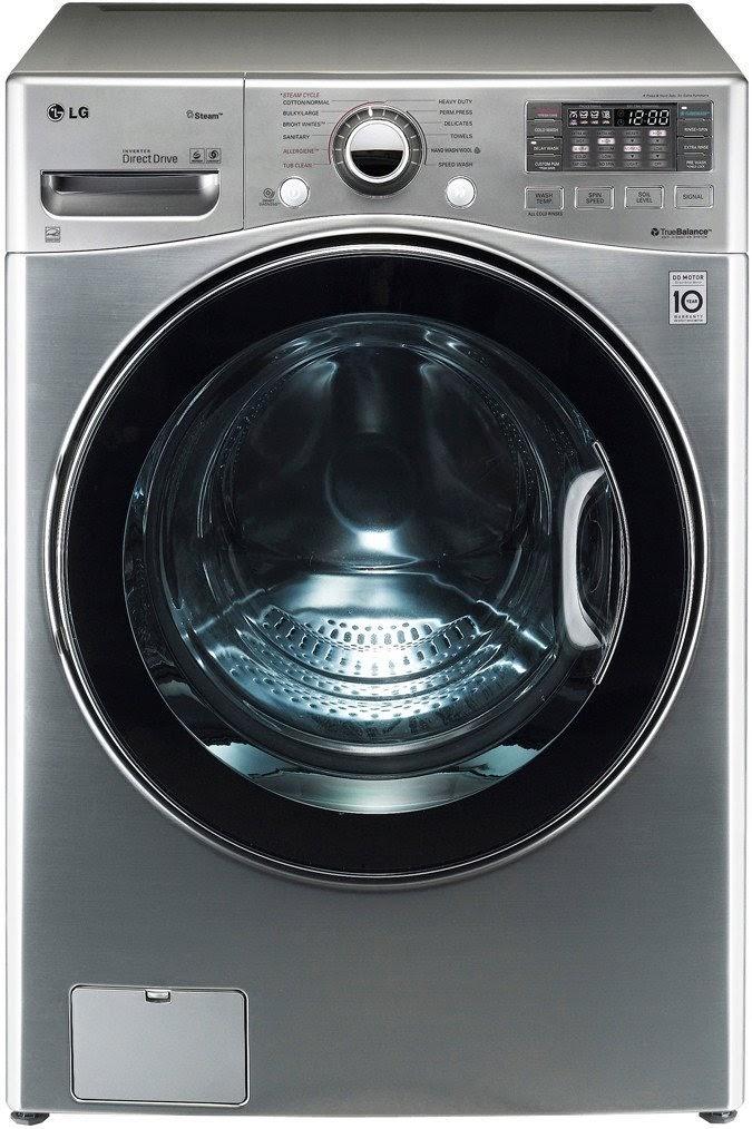 graphite steel lg wm3470 40 cf ultra large capacity turbo wash