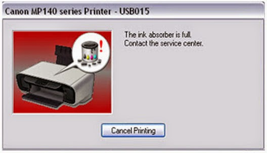 Cara Reset Printer Canon MP145
