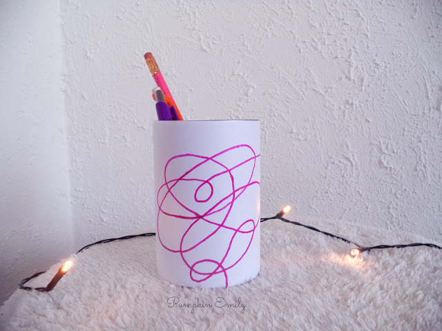 DIY BTS Pencil Holder