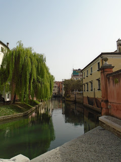 Treviso is a city of canals, although on a somewhat smaller scale than Venice