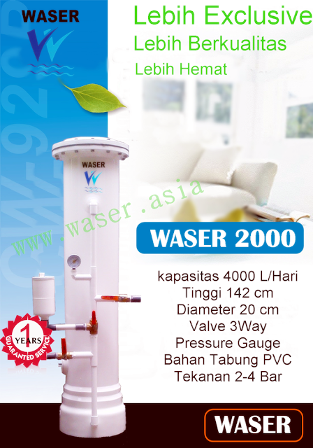 harga filter air waser 2000