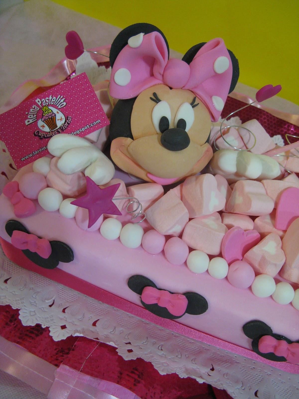 Reina Pastelito Cupcakes Tortas Torta Minnie Mouse Reina