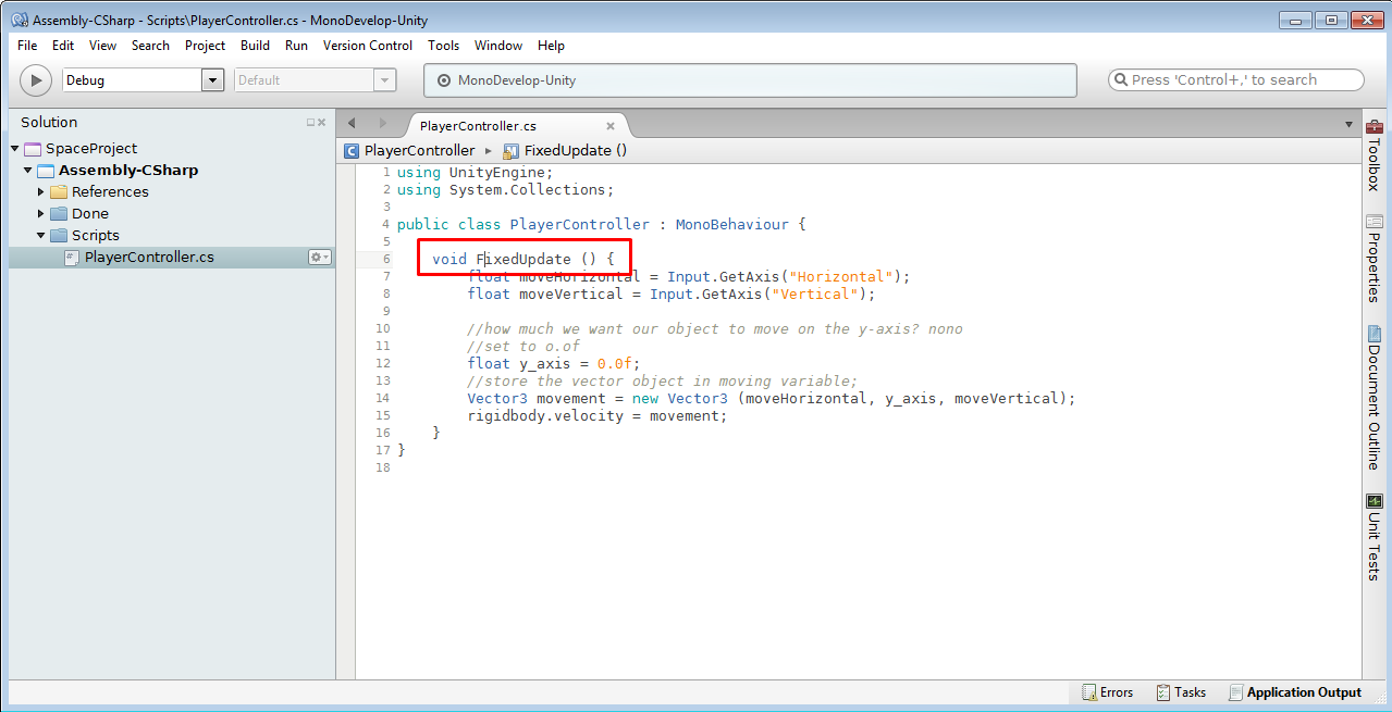 Ubuntu_Microsoft_Android_AnakRamli: #P6 Kick Start - Unity [Moving