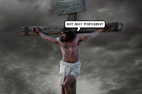 Funny Jesus Crucified Meme - Got Any Popcorn