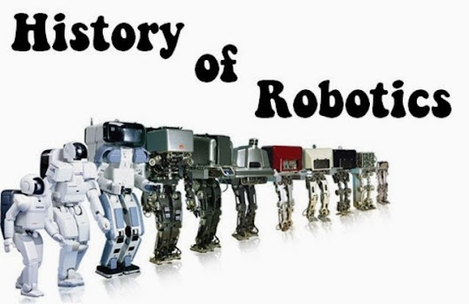 A Short History Of Robots Robot Timeline ~270 BC An
