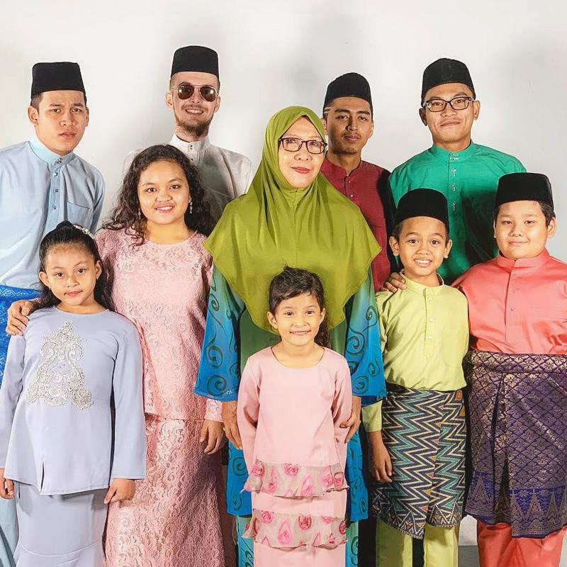 Pelakon Diari Ramadan Rafique Reunion