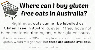 Where Can I Buy Gluten Free Oats in Australia?