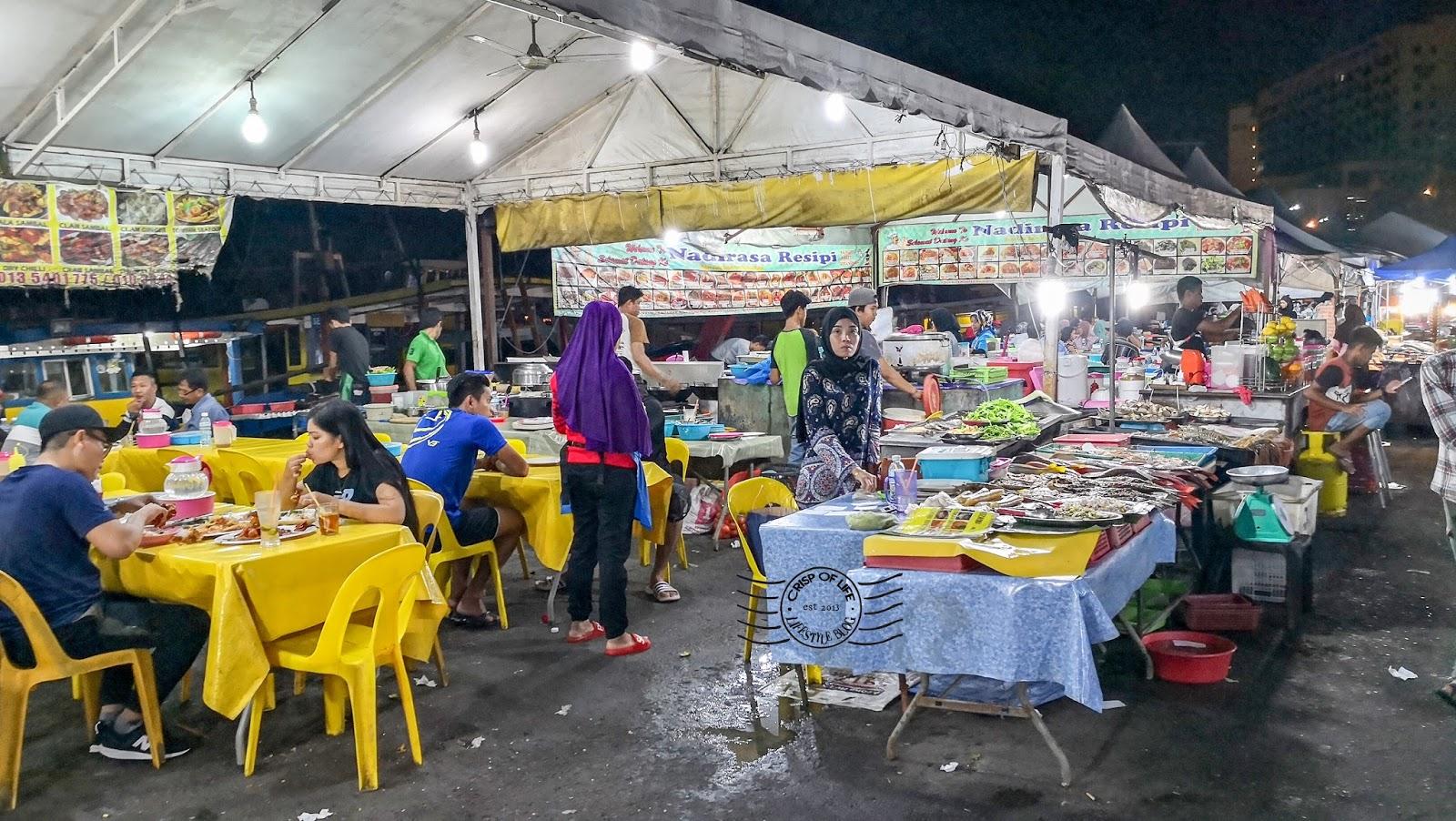 Filipino Market Seafood Kota Kinabalu Sabah