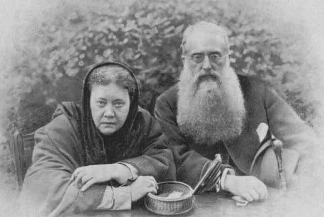 Kol. Henry Steel Olcott & Helena Blavatsky