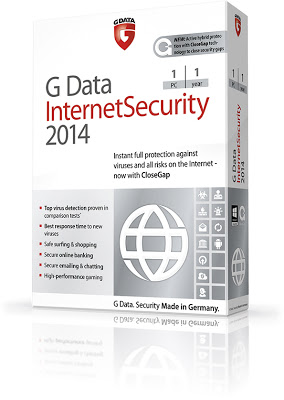 G Data InternetSecurity 2014 24.0.1.1 Final + Serial Free Download