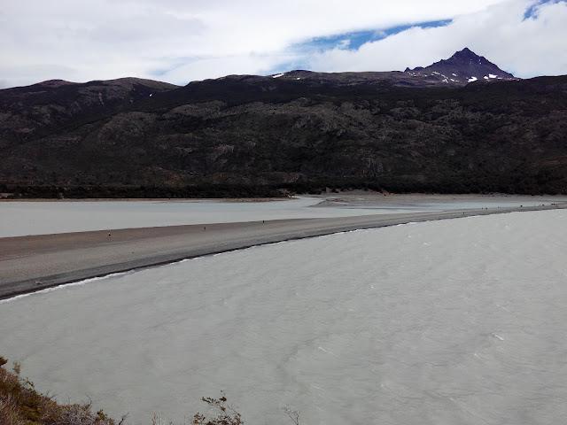 Playa del lago Grey, Torres del Paine