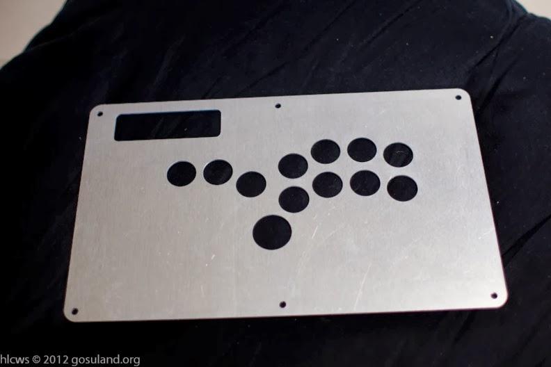 Arcade and Video Game Modding: Madcatz TE Hitbox Faceplate