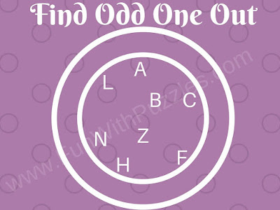 Odd Letter Out Picture Puzzle for Kids