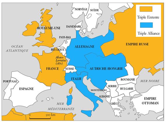 Triple Alliance and Triple Entente (1882)