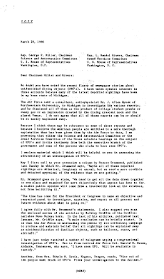 Ford's UFO Press Resease Urging Congressional Investigation (pg2)