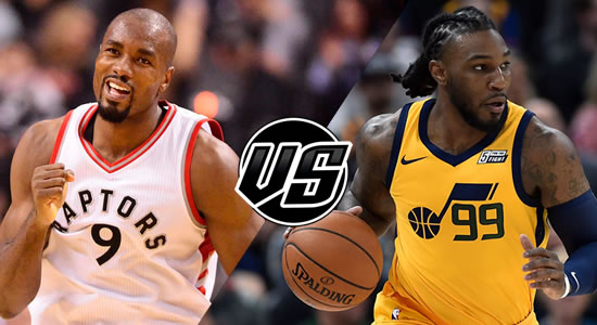 Live Streaming List: Toronto Raptors vs Utah Jazz 2018-2019 NBA Season