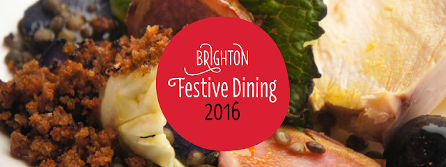 Graphic Foodie Brighton festive food guide