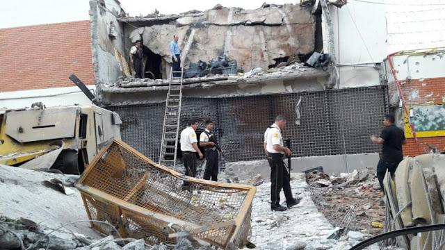 Terror em Ciudad del Este, depois que um grupo armado invadiu a Prosegur e roubou 40 milhões de dólares
