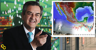 Mexico Deputy Minister of the Environment Rodolfo Lacy. (Credit: Wikipedia / Image graphic created by David McCarthy) Click to Enlarge.