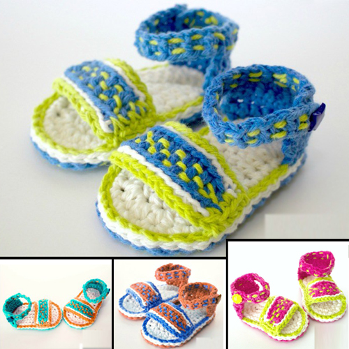 Dreamweaver Sandals - Free Pattern