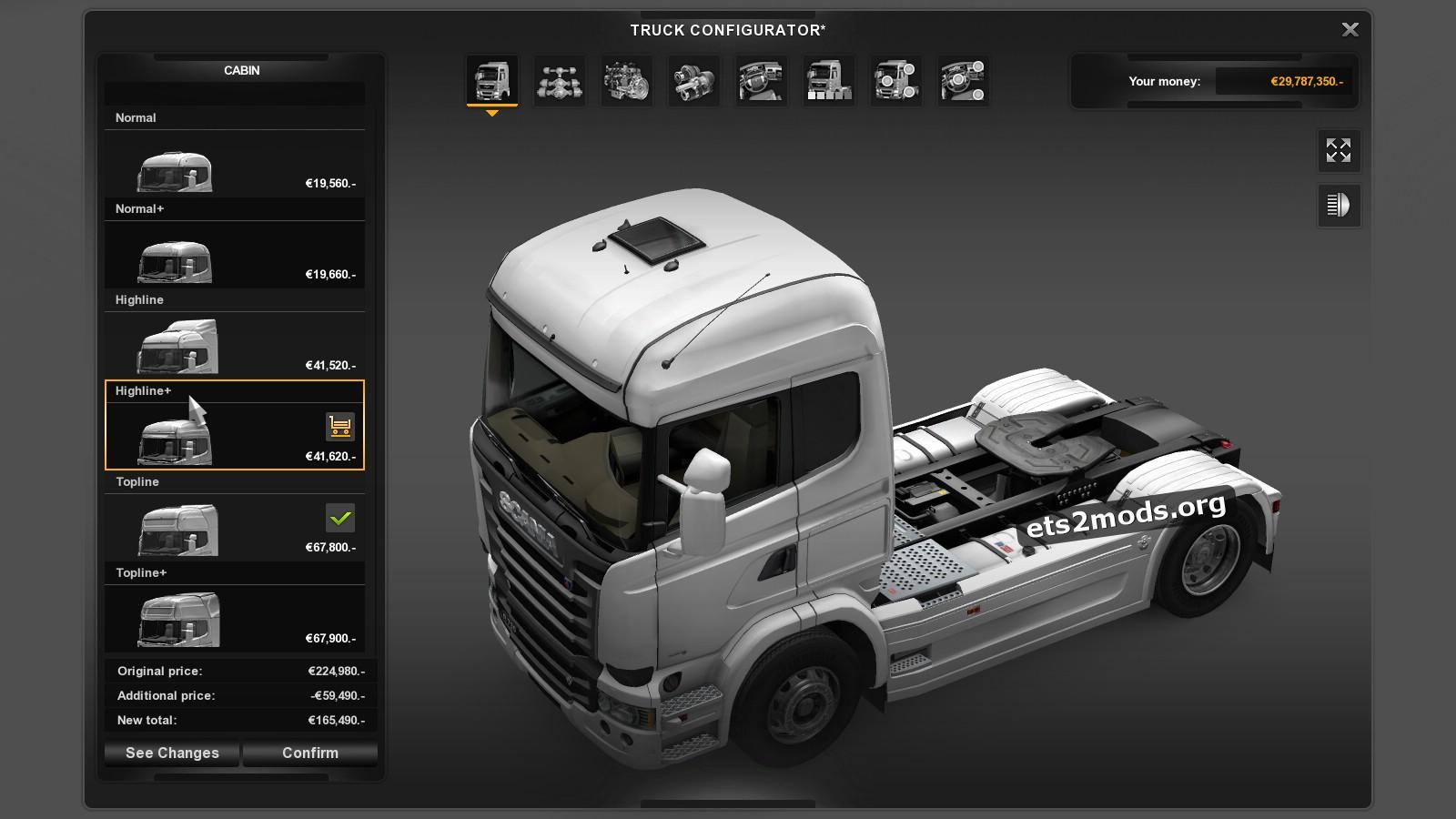GTM Scania Reworks cabins