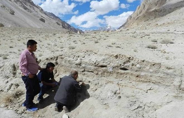 10,500 year old camp site discovered in Kashmir