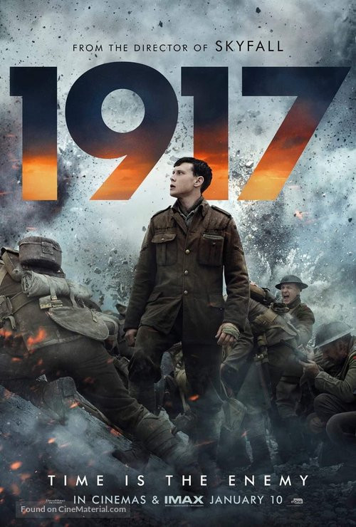 1917 2019 English 720p HDCam 900MB Download